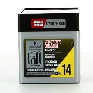 TAFT HAIR GEL 250ml Super glue N14