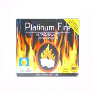 BBQ PLATINUM FIRE ΠΡΟΣ/ΜΑ ΚΥΒΟΥ ΤΖΑΚΙΟΥ 48ΤΕΜ