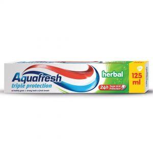 AQUAFRESH T/PASTE 125ml Herbal