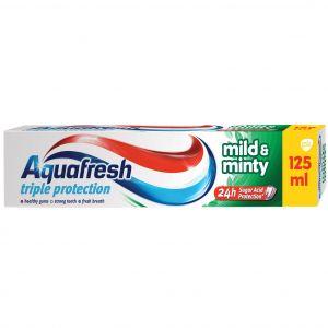 AQUAFRESH T/PASTE 125ml Mild & minty