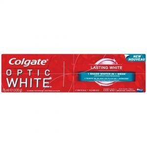 COLGATE T/PASTE OPTIC WHITE 75ml Lasting white