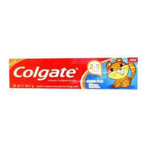 COLGATE T/PASTE KID  2-5 years 50ml Bubble fruit