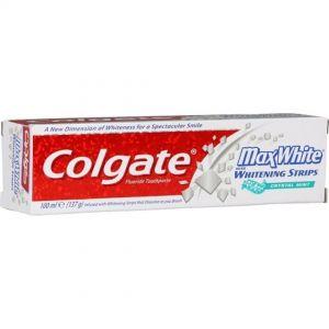 COLGATE T/PASTE  MAX WHITE  100ml   White crystals