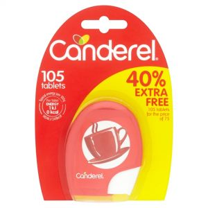.CANDEREL TABLETS 105 TEM
