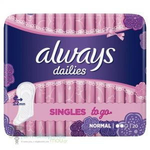 ALWAYS SINGLES TO GO NORMAL 20τεμ