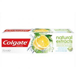 COLGATE T/PASTE  NATURAL EXTRACTS 75ml Lemon