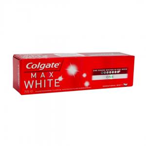 COLGATE T/PASTE MAX WHITE 75ml One