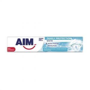 AIM T/PASTE FAMILY PROTECTION 75ml White