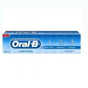 ORAL B T/PASTE 123 100ML  Fresh Mint