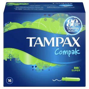 TAMPAX COPMPAC SUPER 16S