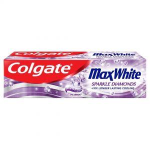 COLGATE T/PASTE MAX WHITE Sparkle 100ml
