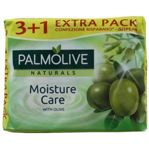 PALMOLIVE ΣΑΠΟΥΝΙ 90gr WITH OLIVE 3+1