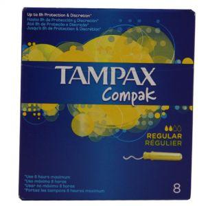 TAMPAX COMPAC REGULAR 8S