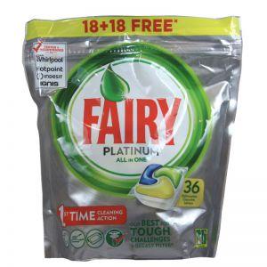 FAIRY CAPS ALL IN ONE PLATINUM 18+18 LEMON
