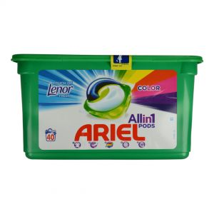 ARIEL ΤΑΜΠΛΕΤΕΣ ΥΓΡΟ  All IN ONE 40TEM COLOR TOUCH