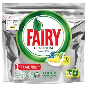 FAIRY CAPS ALL IN ONE PLATINUM 10τεμ LEMON