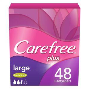 CAREFREE PLUS LARGE LIGHT SCENT 48Τ