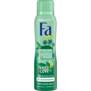 FA DEO SPRAY 150ml THROWBACK MOMENTS TRAVEL LOVE