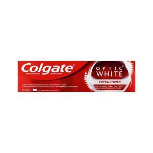 COLGATE T/PASTE OPTIC WHITE 75ml EXTRA POWER