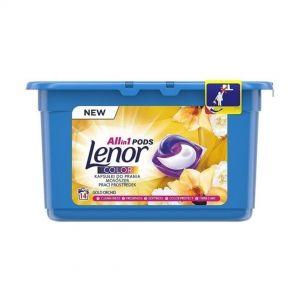 Lenor liquid caps 14sc 14 pcs All in 1 Amethyst Color