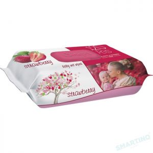 SLEEPY BABY WET WIPES 120pcs Strawberry