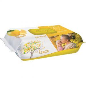 SLEEPY BABY WET WIPES 120pcs Lemon