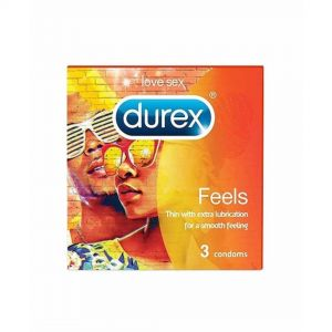 DUREX CONDOM 3PCS FEELS