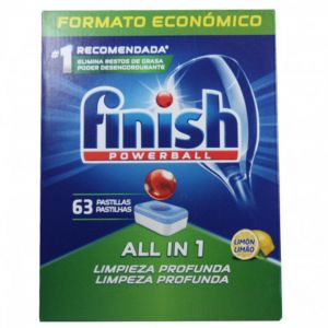 FINISH ΤΑΜΠΛΕΤΕΣ 63ΤΕΜ ALL IN ONE LEMON
