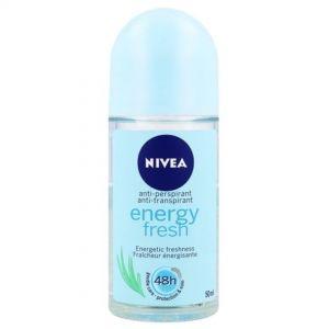 NIVEA ROLL-ON 50ML ENERGY FRESH (Γ)