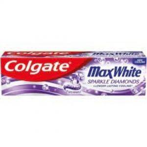 COLGATE T/PASTE MAX WHITE 100ML SPARKLE DIAMONS